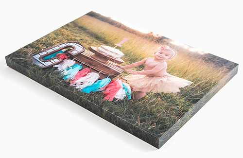 Gallery Blocks, also known as Print Wraps, are a premium wall décor item, and the most high-end mounting option for your Professional Prints! Gallery Blocks are made from Kodak Endura Metallic photographic paper which is wrapped around wood and manufactured to perfection.