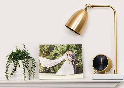 Decorate your home with your favorite photos.